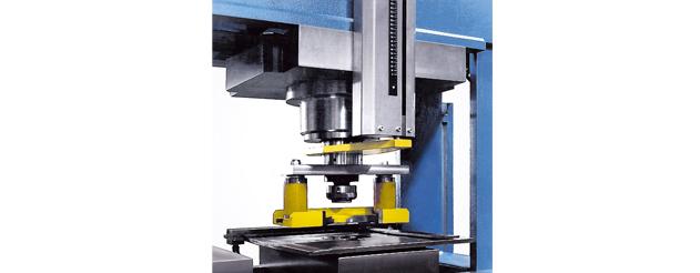 Stanzwerkzeug für Durchmesser von 6 mm bis 40 mm mit elastischem Niederhalter mit Verformungsschutz