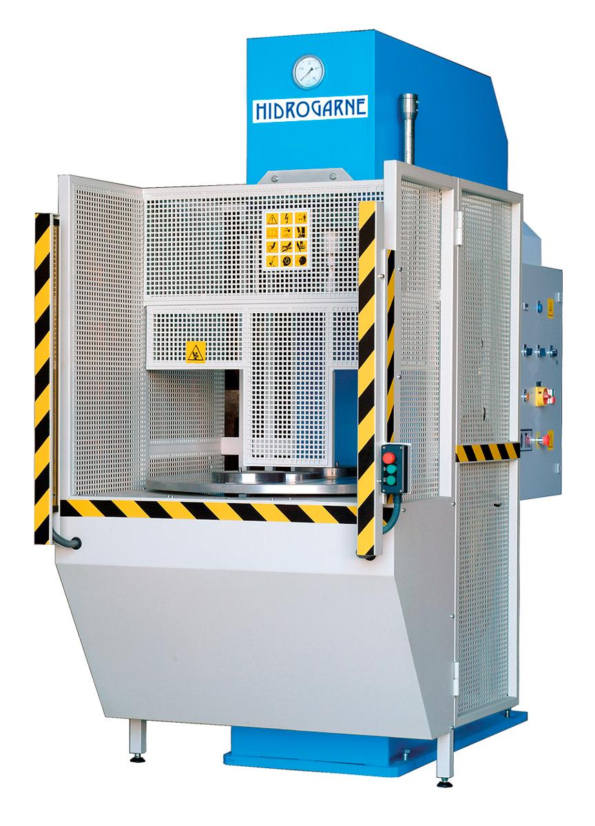 Prensas hidráulicas serie CM motorizadas con cuello de cisne CM 100-E (Especial)