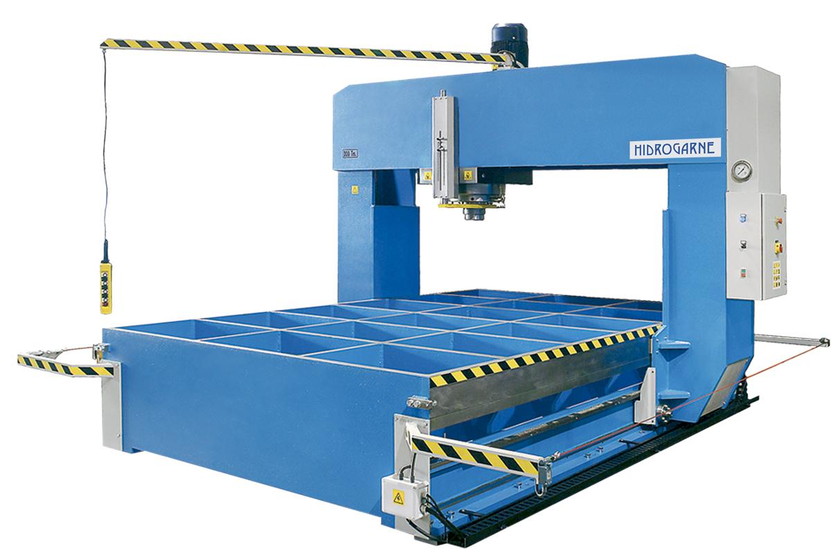 Prensas hidráulicas mod. TL-150, TL-220 y TL-300