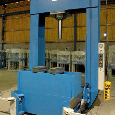 Prensa hidráulica especial para el empilado de rotores y estatores