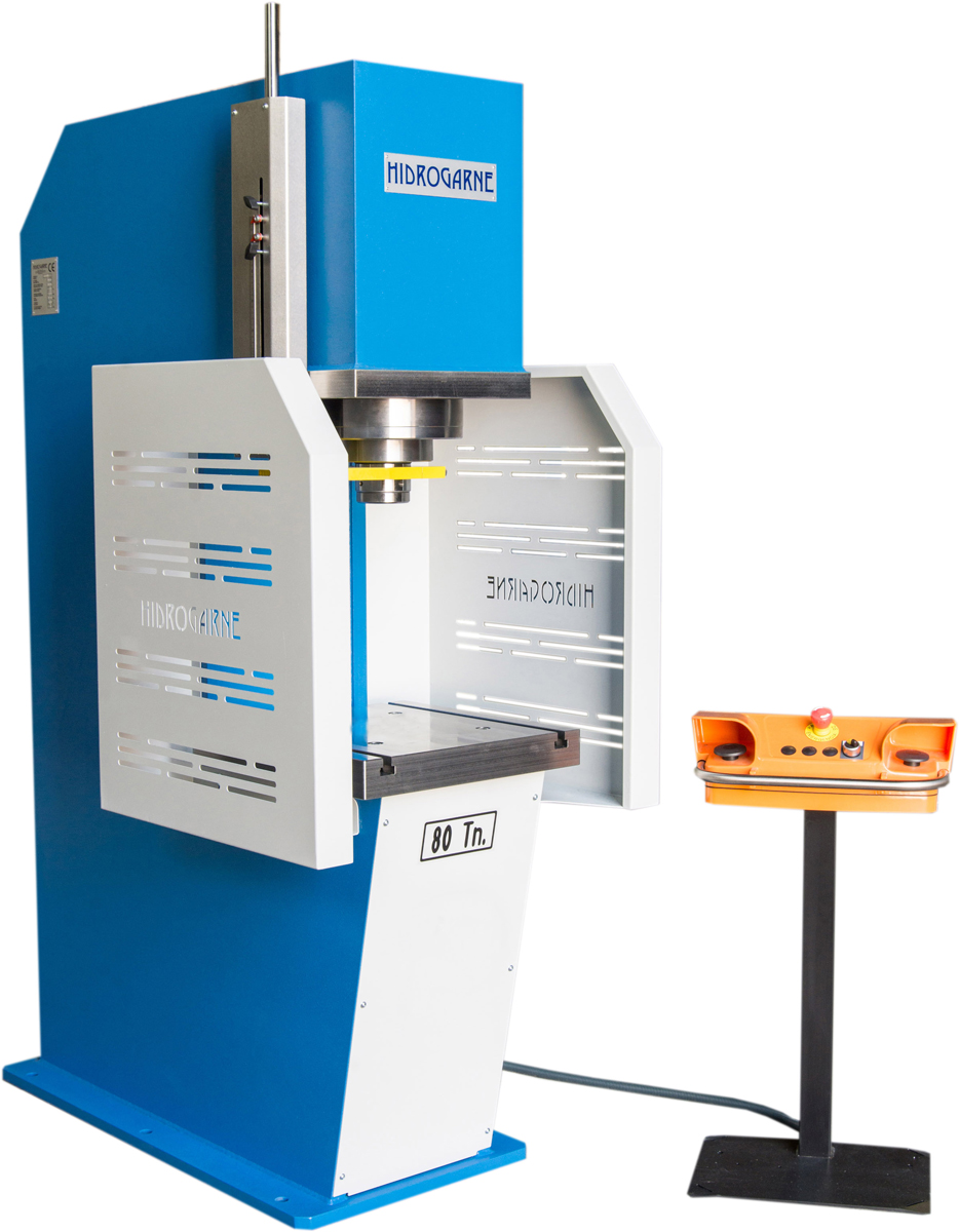 Prensa hidráulica HIDROGARNE CD-80 estándar
