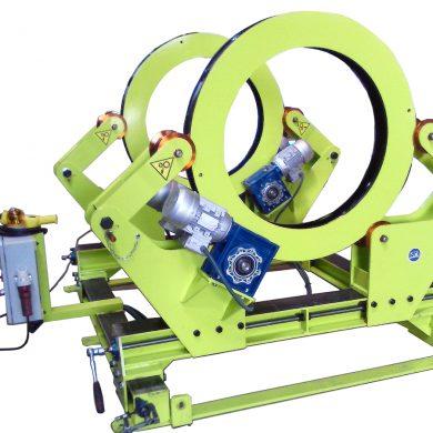Posicionador - virador de fabricación especial para estatores