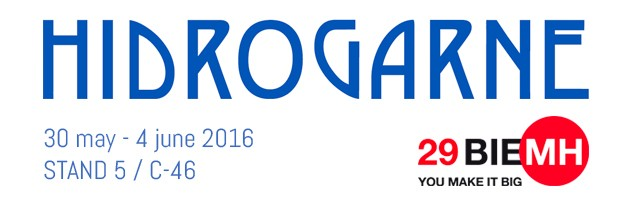 HIDROGARNE at International Machine-Tool Exhibition BIEMH from 30th may to 4th June, 2016