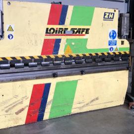Plegadora hidráulica convencional revisada LOIRE-SAFE de ocasión