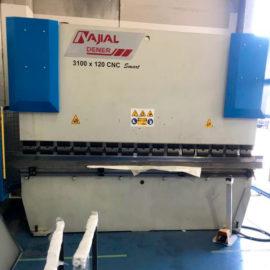 Plegadora sincro-electrónica AJIAL DNC-1230 de ocasión (Ref. 113)