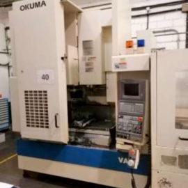 Machining center OKUMA MX 45VA double palet