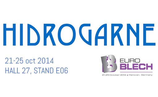 HIDROGARNE will introduce their latest innovations at EUROBLECH, from 21st to 25th October