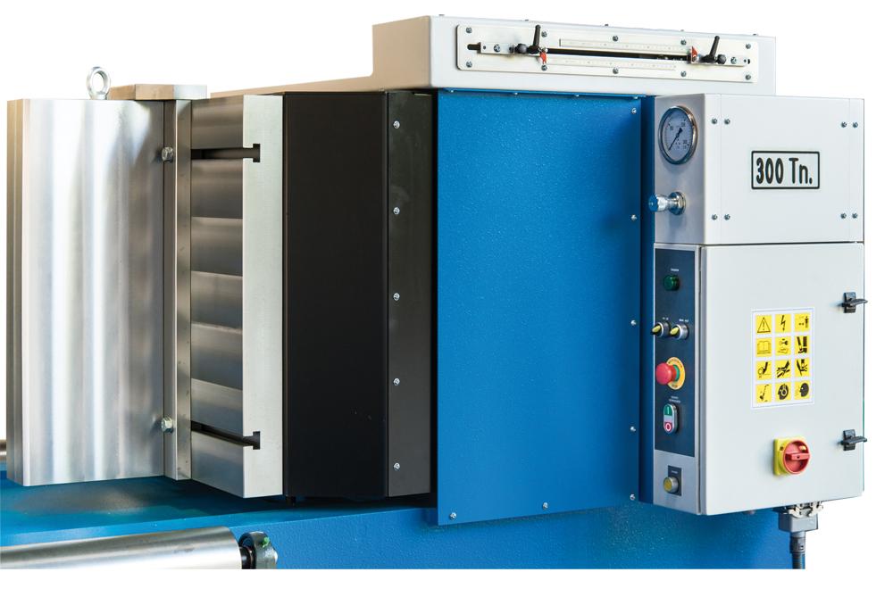 Cuadro eléctrico de las prensas horizontales hidráulicas serie HV