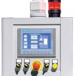 NC SIEMENS SIMATIC con pantalla táctil KTP-700. Serie CF