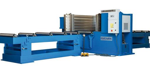 Nueva serie de prensas hidráulicas HIDROGARNE horizontales de carnero