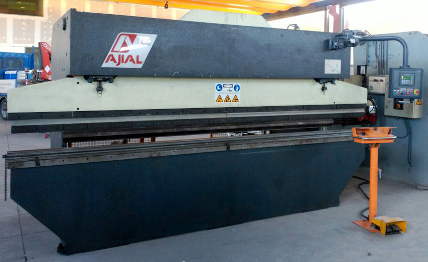 Used and revised conventional hydraulic press brake AJIAL