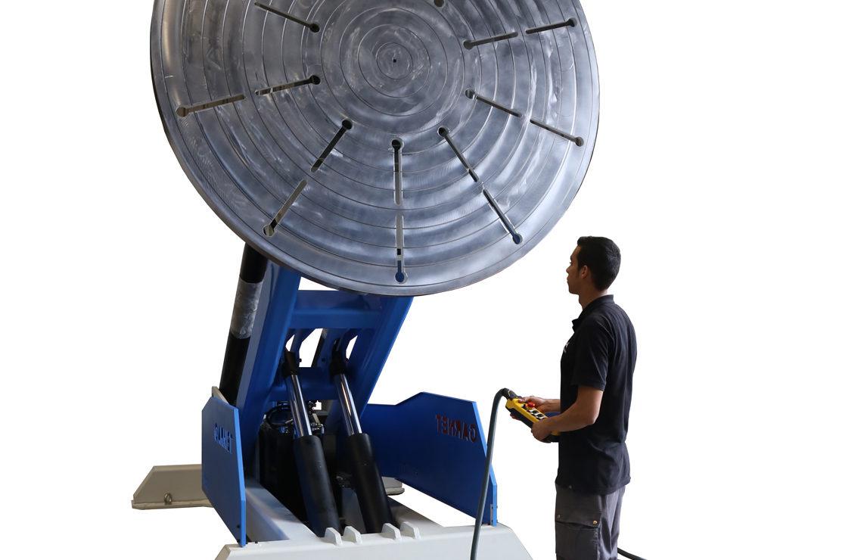Posicionador especial para soldadura, ajuste y montaje PV-15000