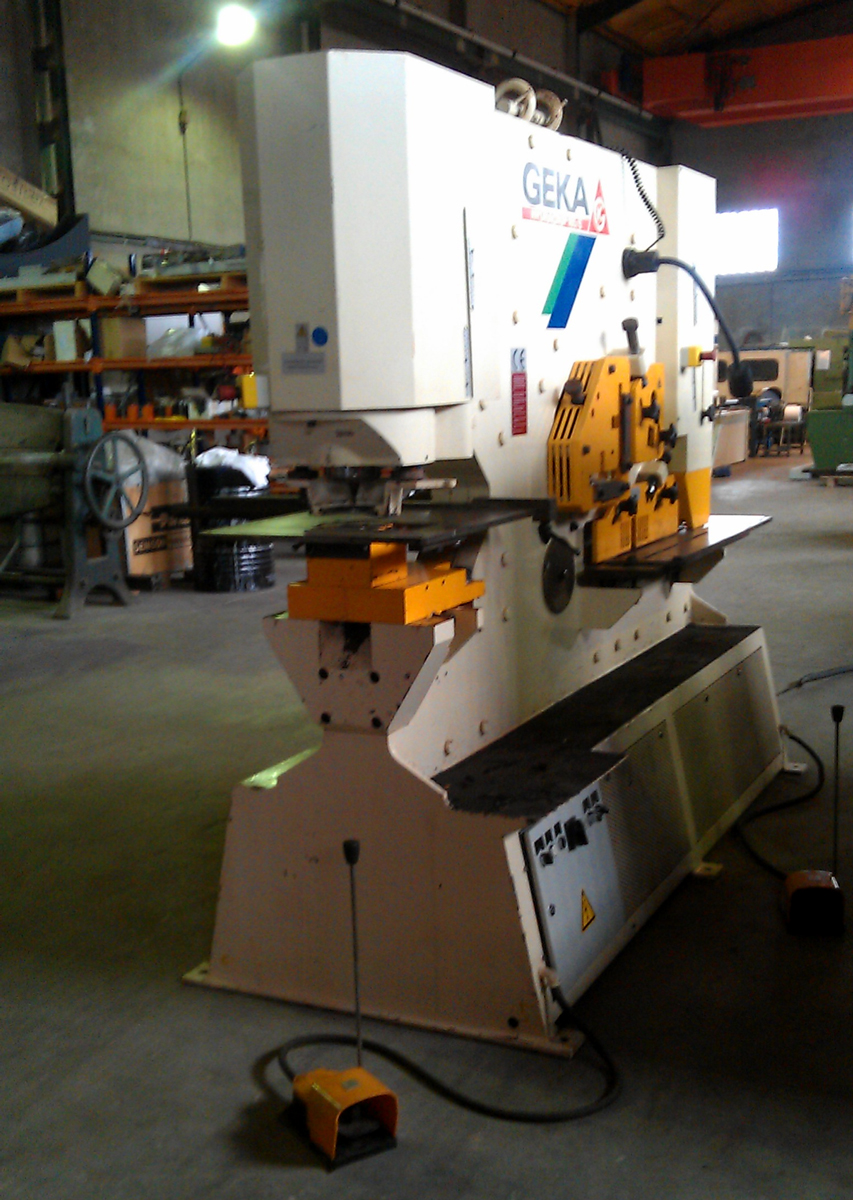 Used and revised GEKA universal shear