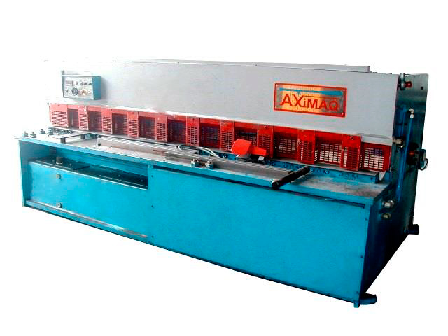 Second-hand hydraulic pendulum shear AXIAL