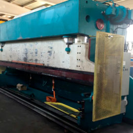 Revised hydraulic press brake AJIAL -revised-