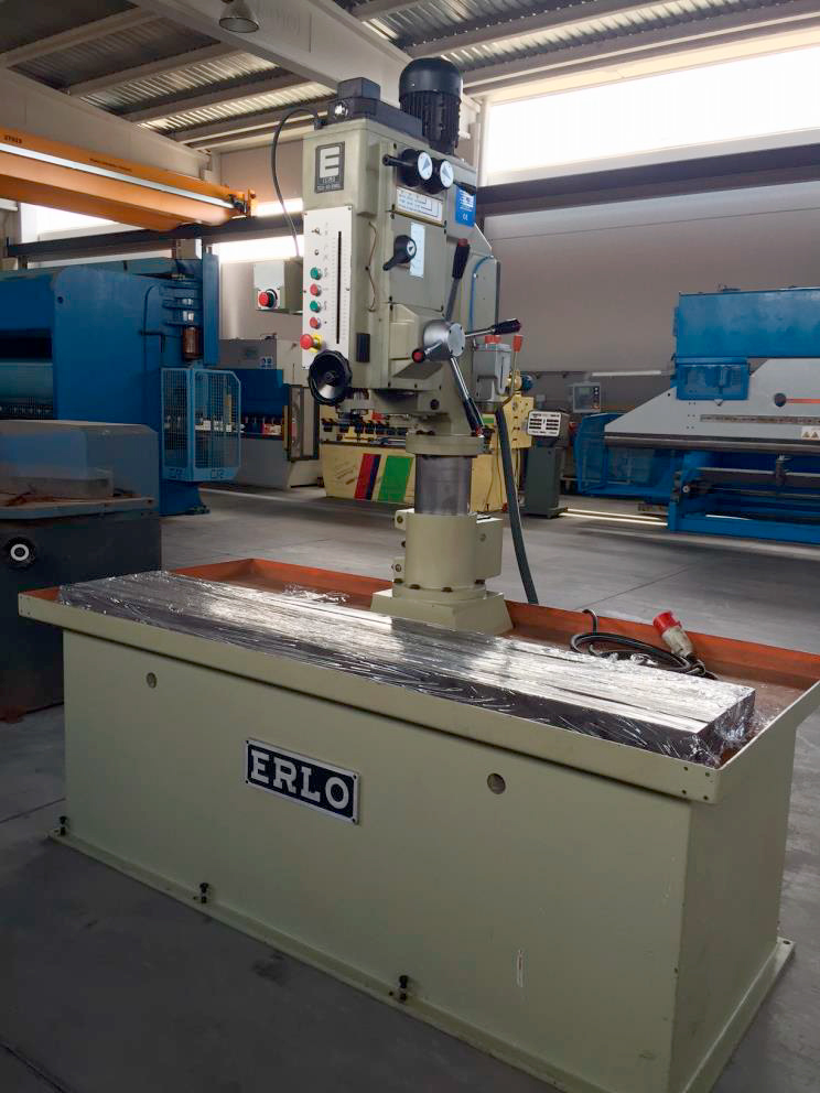 Revised drill column with fixed bed ERLO mod. TCA-40-EMEL