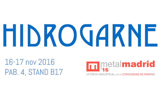 On 16th and 17th November, HIDROGARNE at MetalMadrid 2016
