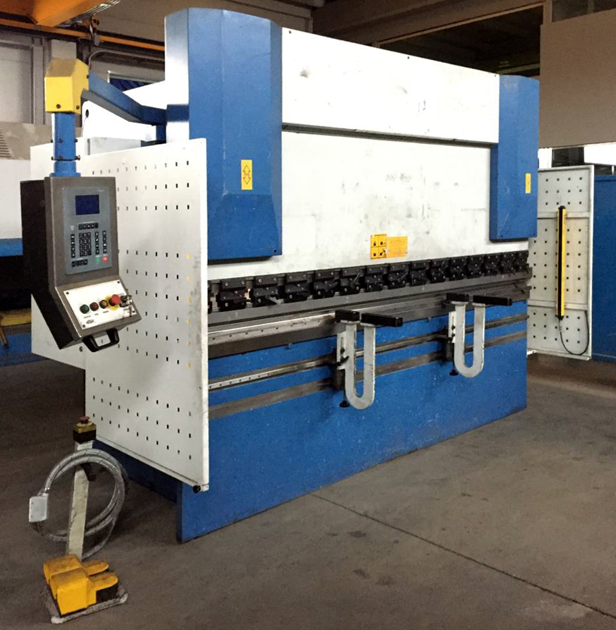 Revised electronic press brake GARNET