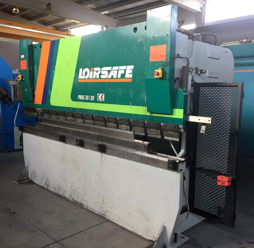 Electronic press brake LOIRE-SAFE sincro-electronic 3 axes CNC
