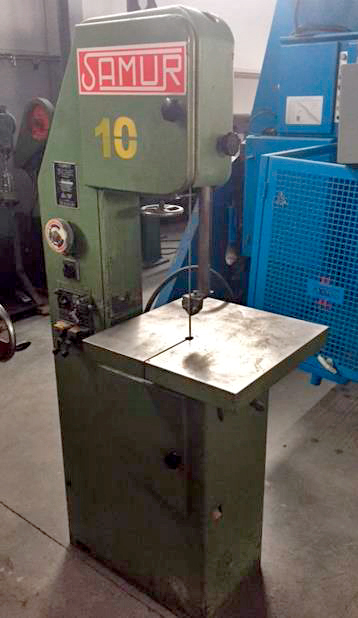 Belt-saw moulding machine SAMUR