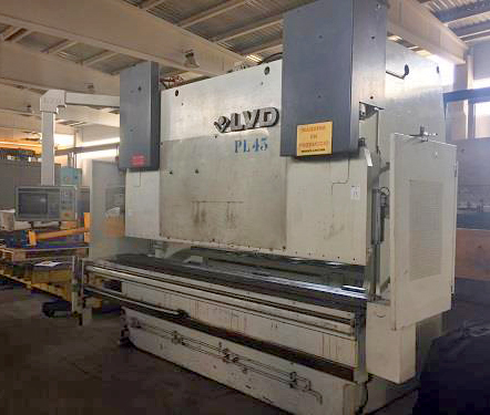Second-hand sincro-electronic press brake LVD
