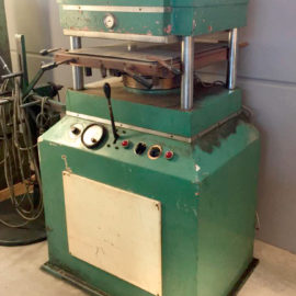 Vulcanizing press SUNVIC