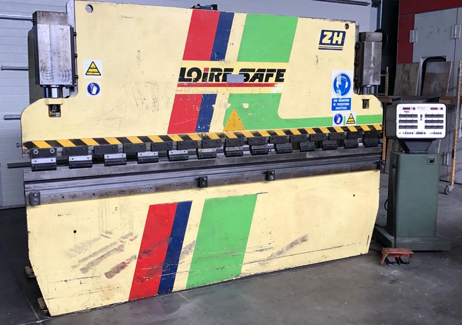Revised hydraulic press brake LOIRE-SAFE