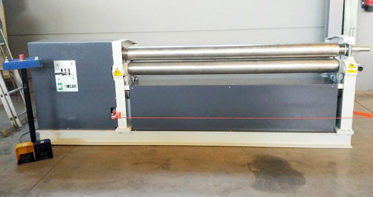 Asymmetric cylinder 3 rolls IMCAR