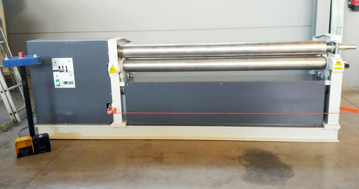 Cilindro asimétrico 3 rodillos IMCAR de ocasión