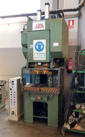 Eccentric press ABM Mod. PREN-63 second-hand and revised machine