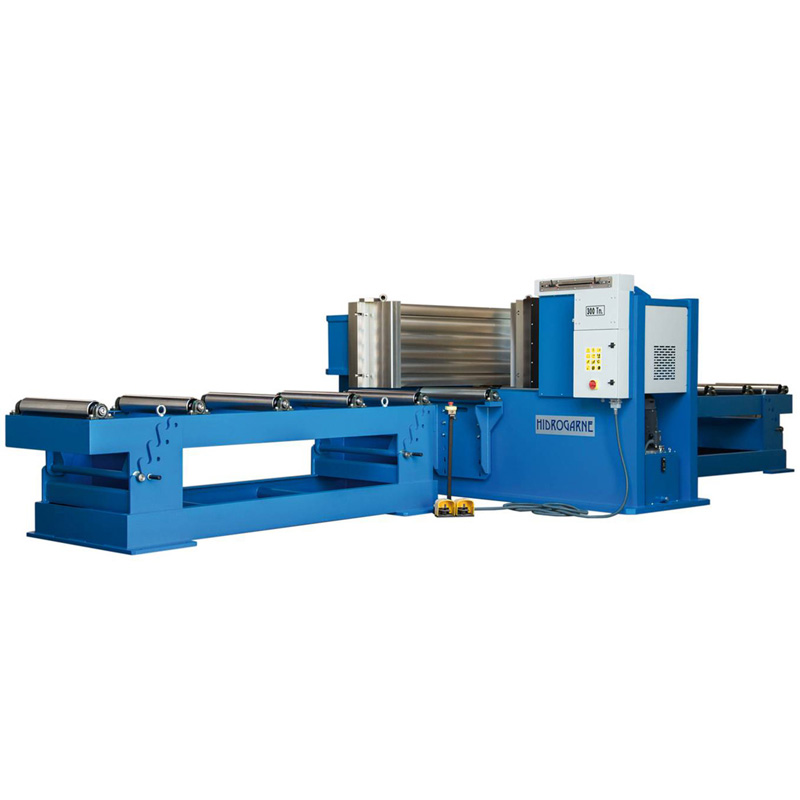 Motorized cambering and straightening horizontal presses: HV series