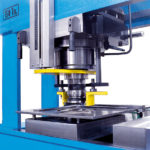 Punching equipment for diameters from 6 mm to 160 mm (optional accessory)