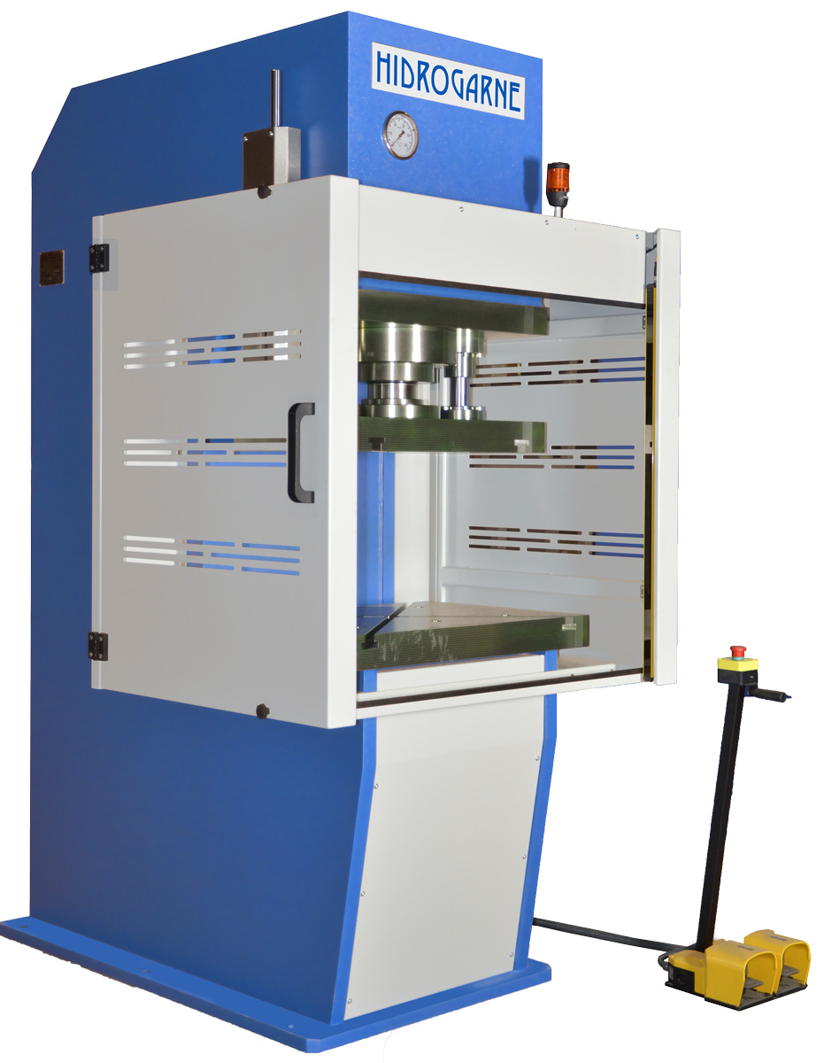 SC-frame motorized hydraulic presses: CM series CM-80