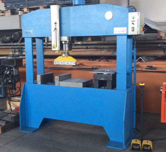 HIDROGARNE press brake F series - second hand