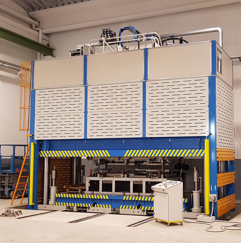 HIDROGARNE, fabricante de prensas hidráulicas, cizallas, plegadoras y posicionadores de máxima calidad.